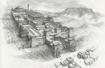 1. Sketch - library-of-alexandria-1024x670