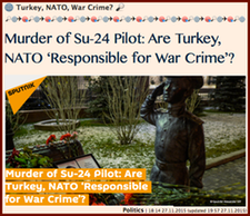 20151127 Turkey, NATO, War Crime?