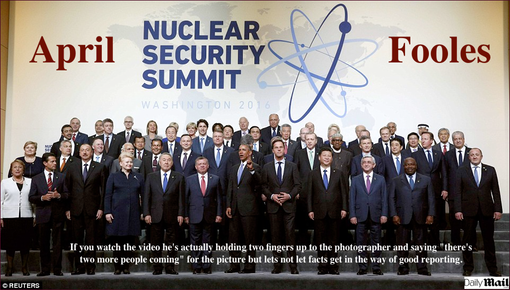 April Fooles2, Nuclear Summit 2016