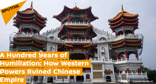 Pic 1. HEADLINE- A Hundred Years of Humiliation- How Western Powers Ruined Chinese Empire
