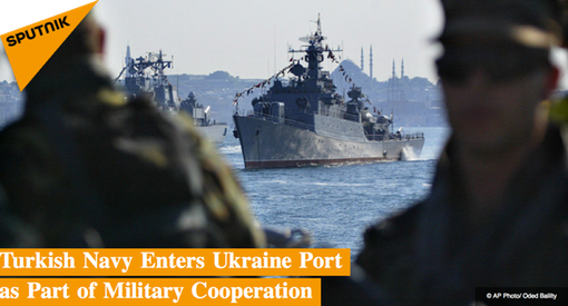 Pic 4. Turkish Navy Enters Ukraine Port as Part of Military Cooperation