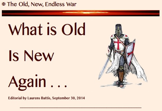PRESS PLATE- The Old, New, Endless War