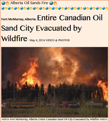 TITLE- Alberta Oil Sands Fire