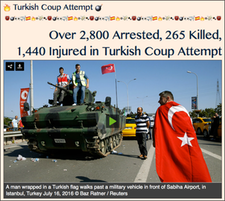 TITLE- Turkish Coup Attempt