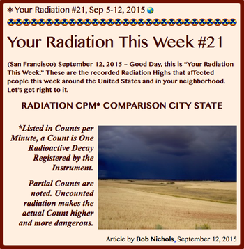 TITLE- Your Radiation #21, Sep 5-12, 2015