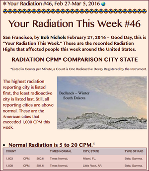 TITLE- Your Radiation #46, Feb 27-Mar 5, 2016